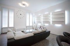 客厅室内设计 免版税库存照片