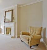 客厅样式维多利亚女王时代的著名人&# 免版税库存照片