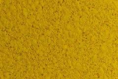 客厅的装饰 黄色墙壁纹理 免版税库存照片