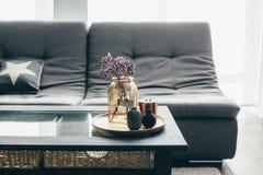 客厅装饰 免版税图库摄影