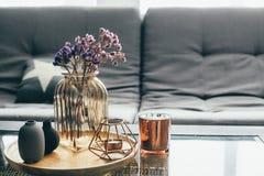 客厅装饰 免版税库存图片