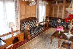 客厅,家庭豪华 免版税图库摄影