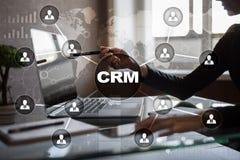 客户关系管理 顾客关系管理概念 顾客服务和关系 图库摄影
