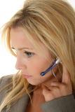 客户听的服务 免版税库存照片