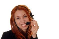 客户操作员服务 库存图片