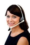 客户服务代表 免版税图库摄影
