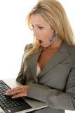 客户服务部冲击了 免版税库存图片