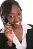客户服务部妇女 免版税库存照片