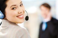 客户服务部技术支持 图库摄影