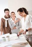 客户机设计员女性内部二 免版税库存照片