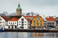 客户港口挪威斯塔万格 免版税库存图片