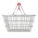 客户购物的超级市场 库存照片