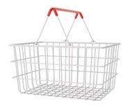 客户购物的超级市场 库存例证