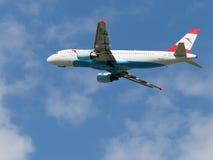 客机空中客车A 320-214 图库摄影