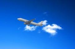 客机 免版税图库摄影