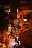 客栈和餐馆在新德里 免版税库存照片