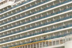 客舱巡航现代船 库存图片