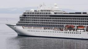 客轮北欧海盗猎户星座相反航行在海   影视素材
