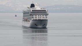 客轮北欧海盗猎户星座航行在太平洋   影视素材