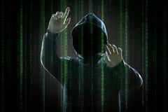 黑客 皇族释放例证