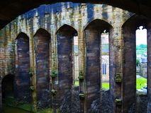 室内城堡 免版税库存图片