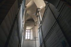 室内天窗大厦  法国巴黎 库存照片