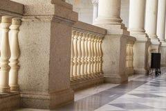 室内宫殿,城堡de托莱多,西班牙 库存图片