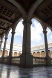 室内宫殿,城堡de托莱多,西班牙 免版税库存照片