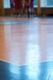 室内排球 免版税库存图片