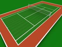 室内网球 免版税库存图片