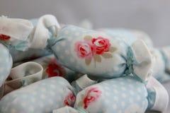室内装璜的棉花糖 库存照片