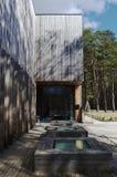 室内设计、空间、建筑学和大厦 免版税库存照片
