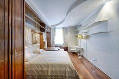 室内设计卧室 图库摄影