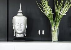 室内设计在现代家 图库摄影