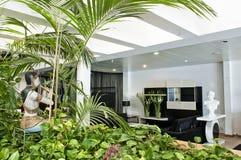 室内设计在现代家 免版税库存照片