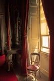 室内设计在英国宫殿 免版税库存照片