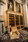 室内设计在英国宫殿 库存照片