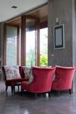室内设计客厅现代样式 库存照片