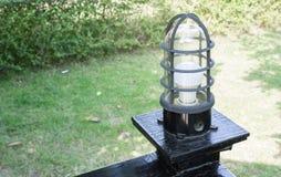 室内设计或外部设计的灯 免版税库存照片