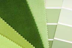 室内设计颜色选择 免版税库存图片