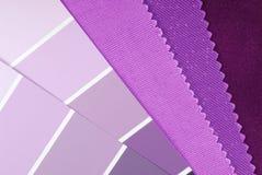 室内设计颜色选择 免版税图库摄影