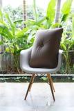 室内设计,沙发家具现代风格 免版税库存照片
