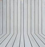 室内部白色木纹理背景 免版税库存照片
