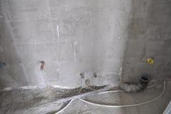 室内建筑工地 库存图片