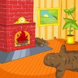 室动画片。 免版税库存照片
