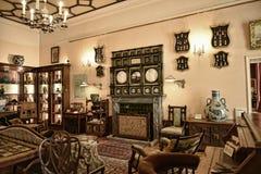 室在不是全国信任财产的利兹西约克郡附近的一栋美丽的乡间别墅里 免版税图库摄影