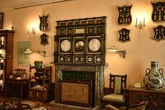 室在不是全国信任财产的利兹西约克郡附近的一栋美丽的乡间别墅里 免版税库存照片