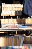室外书的市场 免版税库存图片
