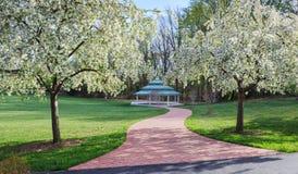室外亭子弗吉尼亚地方公园 免版税图库摄影