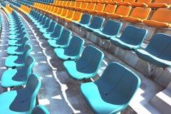 室外位子体育场 免版税库存图片